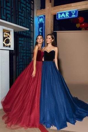 Длинные платья с фатином