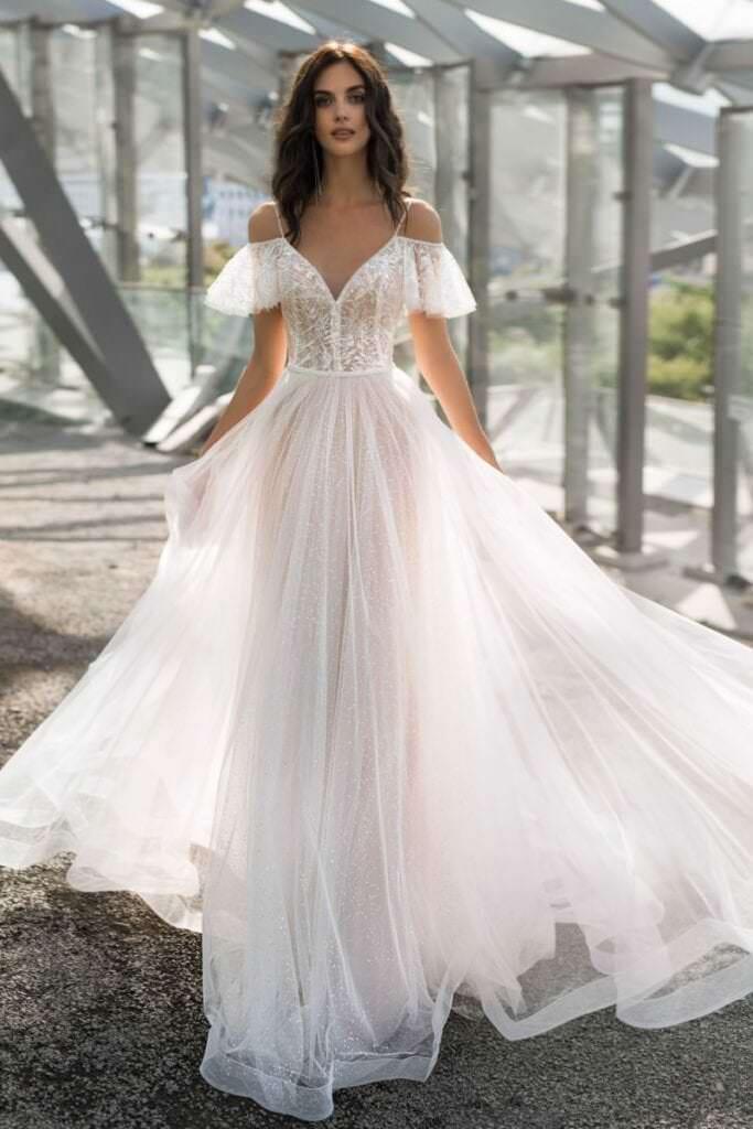 выбор свадебного платья по типу фигуры