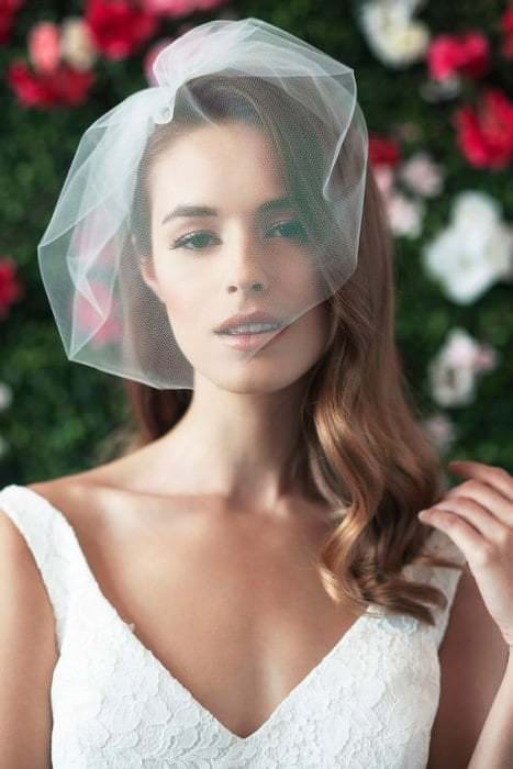 Свадебные вуалетки