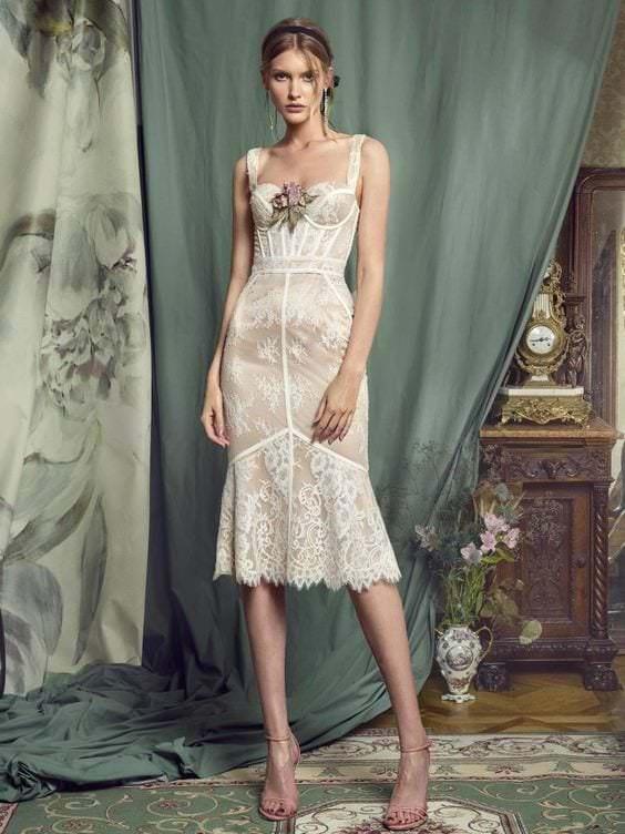 платье бюстье
